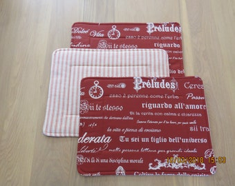 Place Mats set of 6.