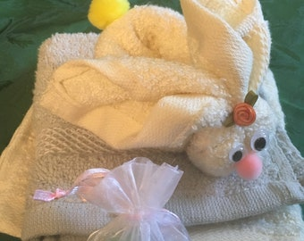 Easter Bunny of washcloth (2unit-set)