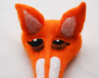 Gift Ideal:  Fox Headpiece/ Fascinator Hat