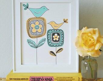Bird Duo Print