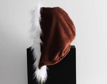 Reversible Fur Hoodie