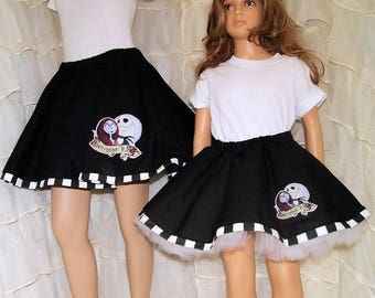 NMBC Jack and Sally Circle Skirt Adult Medium - MTCoffinz - Ready to Ship