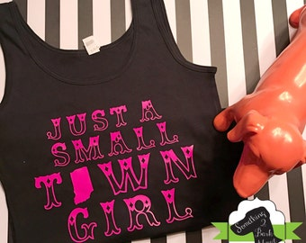 Just a Small Town Girl Indiana Tank Top
