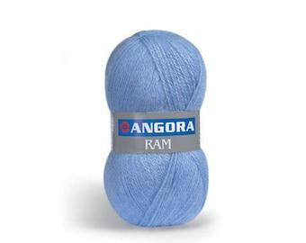YarnArt ANGORA RAM - 40 Mohair 60 Acrylic - Choose Yarn Colour - Soft yarn - Mohair Yarn - Warm Yarn - Winter Yarn - Knitting Yarn