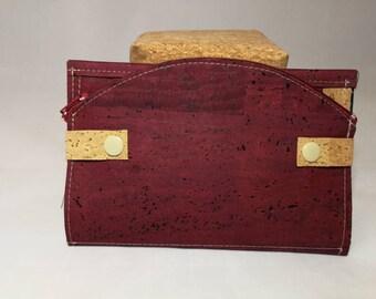 Wallet, Cork, different color card holder