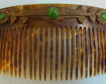 Faux Tortoise Shell Comb