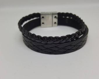 """Leather bracelet for men """"Apollo"""""""