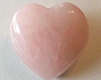 Heart in 40mm Rose Quartz