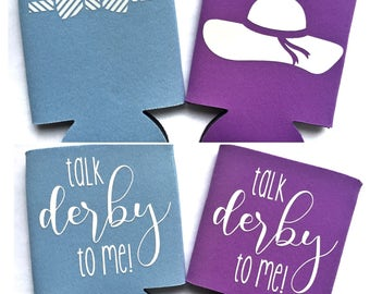 Talk Derby To Me can cooler