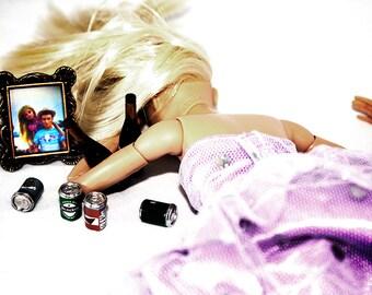 "Digital Print ""Dumped Barbie"""