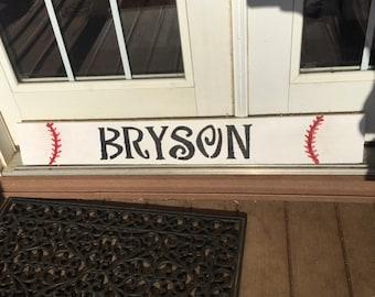 Custom Name Baseball Pallets