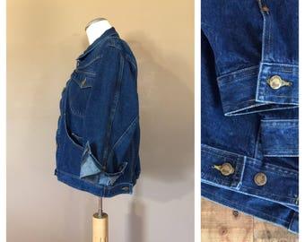 90s Denim Jacket Jacket / Jean Jacket / Levis Vintage Jean Jacket / Vintage Denim Jacket / Blue Jean Jacket / Vintage Denim