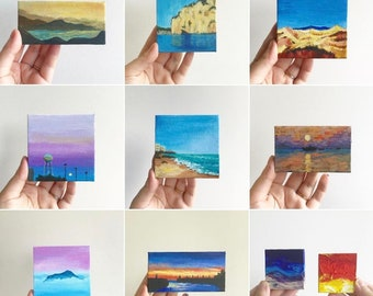 Helen's Mini Canvas