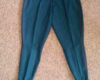 Soviet army officer breeches pants military uniform