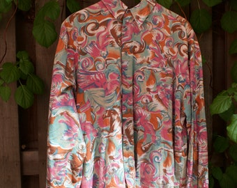 80's pattern shirt