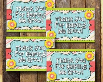 Teacher Appreciation Gift, For Teacher, Appreciation Printable, Teacher Appreciation Week, Teacher Appreciation Tags, Printable Tags