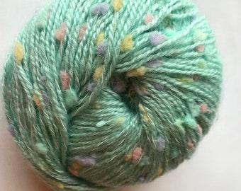Variegated Novelty Yarn -- Confetti by Katia -- Aqua