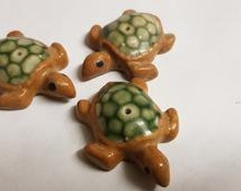 Ceramic Turtle Incense Holder