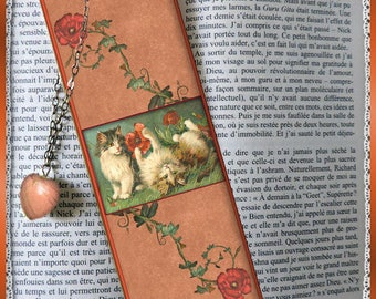 """Laminated bookmarks """"Poppies"""""""