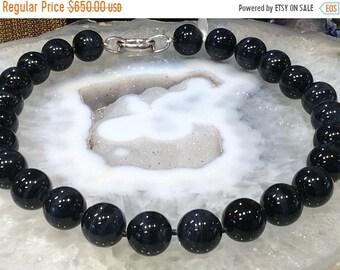 50% Mega Sale Blue Tiger Eye Gemstone Necklace