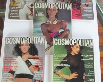N. 5 Magazine COSMOPOLITAN Italy
