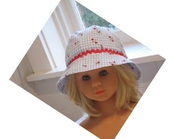 babies hat pattern for 51cm size head 18 - 20 inch headsize