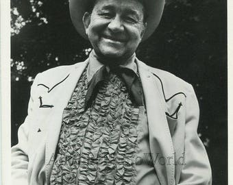 Tex Ritter country music singer actor vintage photo
