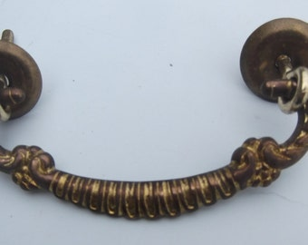 Set of 4 Cast  Brass Drawer Pulls