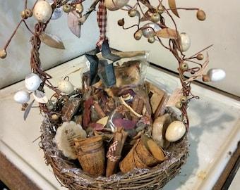 Primitive Easter Basket