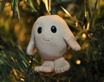 Doctor Who Inspired Adipose Ornament - Polymer Clay Adipose Ornament - Polymer Clay Christmas Ornament - Whovian Gift - Doctor Who Ornaments