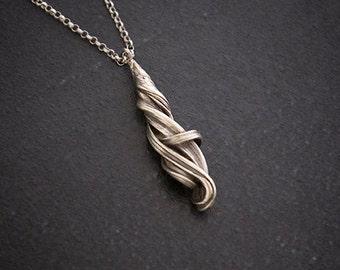 Water Spirit - Art Nouveau necklace - Elven necklace - Elven Pendant