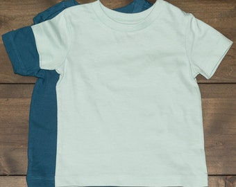 Organic Cotton Crew Neck Tee