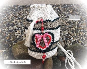 Crochet bag costumes