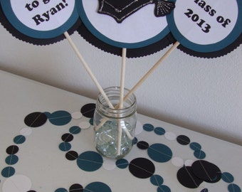 Graduation table centerpiece