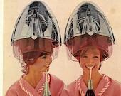 vintage coca cola pink hair dryer 1965 advertisement