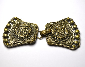 Early Victorian French Coat Buckle Circa late 1800s PRT 023