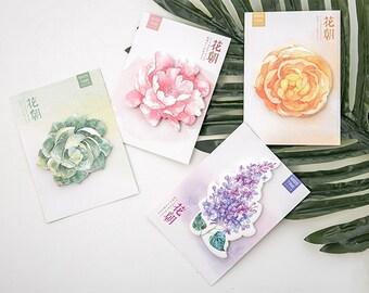Flower Sticky Notes