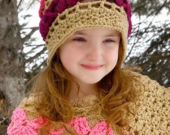 Butterfly Breeze Slouch Hat Crochet Pattern pdf