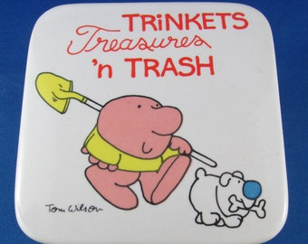 Ziggy trinkets treasures n trash, jewelry box  Vintage