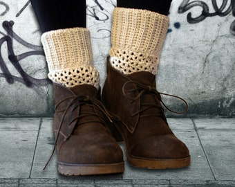 Boot Cuffs crochet pattern , Reversible Boot Cuffs
