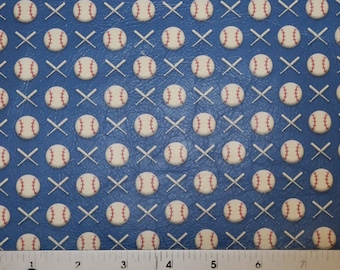 """RESTOCKED Leather 8""""x10"""" BASEBALLS and BATS Retro Print Cowhide 2.5-3 oz / 1-1.2 mm PeggySueAlso™ E1220-01 hides available"""