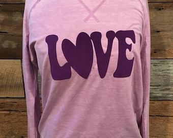 Valentine's Day Love Women's Top