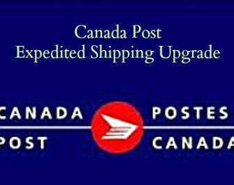 Expedited Shipping Canada Post 4-5 business days