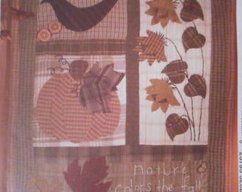 McCalls Quilted Wall Hanging Pattern for Fall, Thanksgiving
