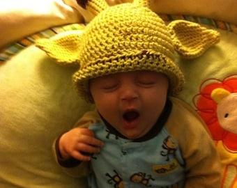 Giraffe Baby Beanie- MADE to ORDER