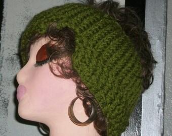 HAT WOMEN KNITTED Headband Half hat  Knitted  Earwarmer    Women  Woman  Teens  Half hat
