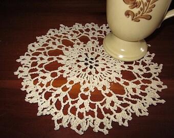Vintage Chic Handmade Crocheted Cloth Doilies