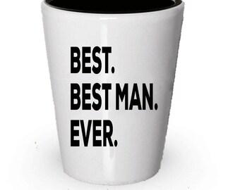 Bestman Shot Glass, Best Bestman Ever, Bestman gift, Gift for Bestman ,  Birthday Gift, Christmas Present