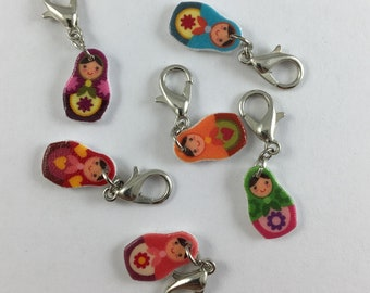 Matryoshka Doll Charms