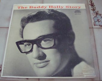 The Buddy Holly Story Rare Red Back Cover Orig Coral Label Long Play